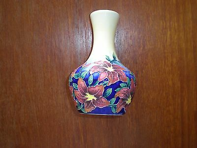 Old Tupton Ware With Lily Design 6 Inches Tall.