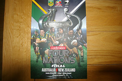 Australia V New Zealand Four Nations Rugby League Final 2016 At Anfield