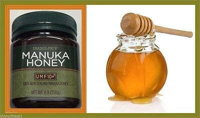 Trader Joe's 100% New Zealand Manuka Honey 10+ (250g/8.8oz) Sealed Free Shipping