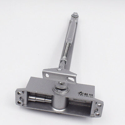 Commercial or Home T90 25-45KG Aluminum Door Closer Two Independent Valve