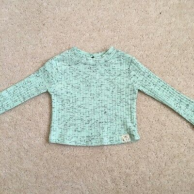 Baby Girls Turquoise Top / River Island Mini / 0-3 Months