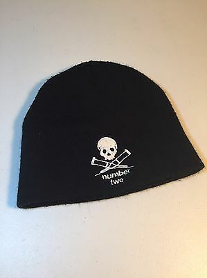Jackass Number Two Black Knit Hat Beanie- Johnny Knoxville 2006