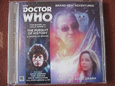 Big Finish Doctor Who 5.7 Pursuit of History 1 disc Tom Baker – Excellent Cond