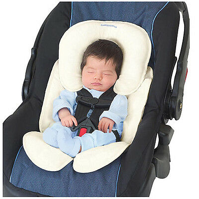 Summer Infant Snuzzler Head and Body Support Cotton Terry Ivory Crash Tested