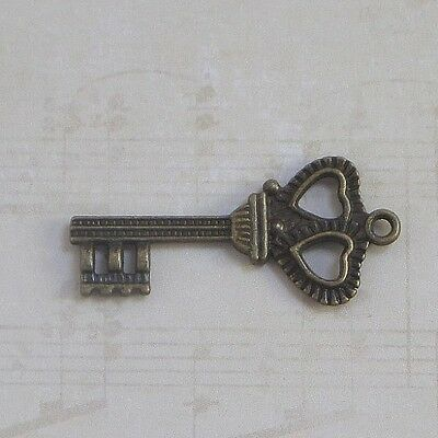 new antique vintage skeleton keys old look 3 colors weddings crafts lot 7