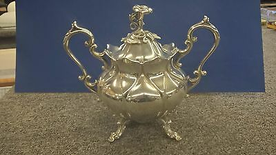 Antique REED & BARTON Silverplate Winthrop Art Nouveau SUGAR BOWL