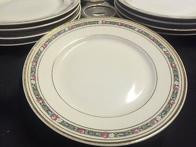 B&c Limoges France Bernardaud & Co. Bread And Butter Plates   Set Of 10