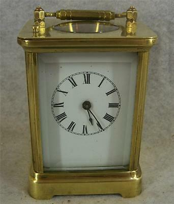 Waterbury Carrige Clock 1890-91 Repeater Time & Strike 8 Day