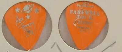 Kiss - Ace Frehley Farewell Tour Tucson Concert Guitar Pick ***last One***