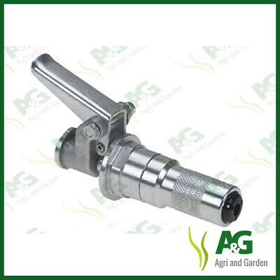 Imperial Grease Gun Quick Attach End Coupler. Suits Standard 1/8 BSP Hose