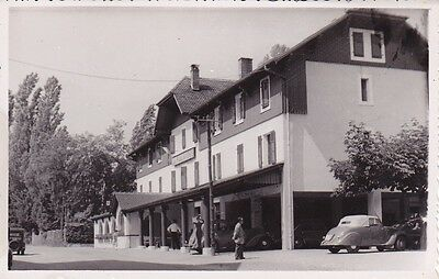 Cpa Animee Yvoire - Hotel Des Falaises - Voiture Ancienne