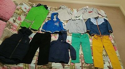 Boys toddler bundle of clothes 2-3 years