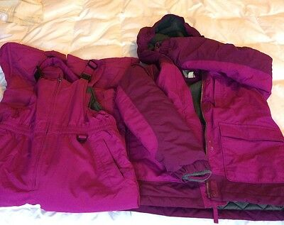 Lands End Ski Jacket and trousers, 10,11,12, M Excellent Condition and Quality
