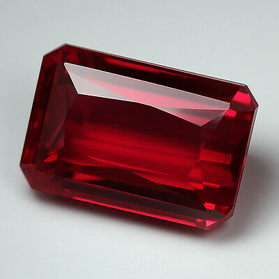 11.60cts. AWESOME AAA BLOOD RED RUBY OCT LOOSE GEMSTONE