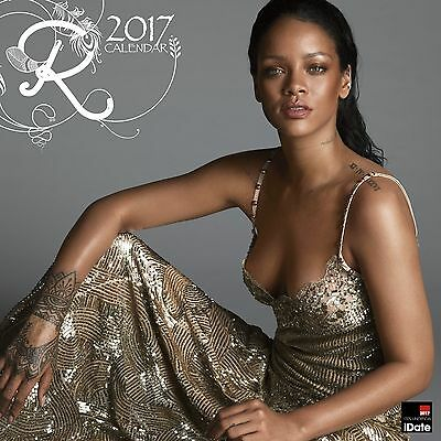 Rihanna 2017 Calendar with free Pullout Poster