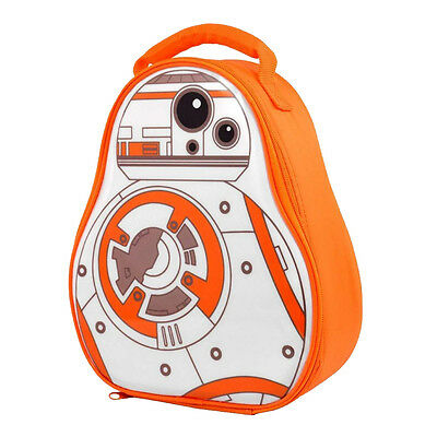 Official Star Wars BB-8 Shaped Insulated Lunch Bag/Box