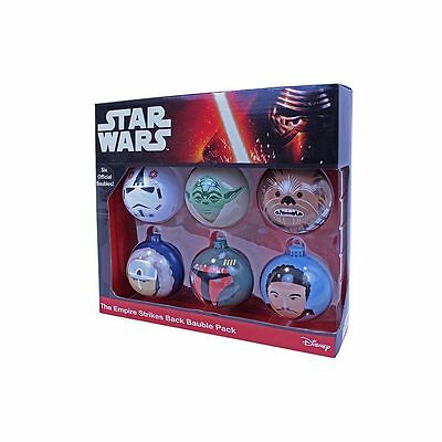 Star Wars The Empire Strikes Back Bauble Pack Official
