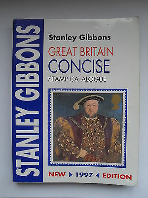 Stamps Gb  - Stanley Gibbons Great Britain Concise Stamp Catalogue-1997 Edition