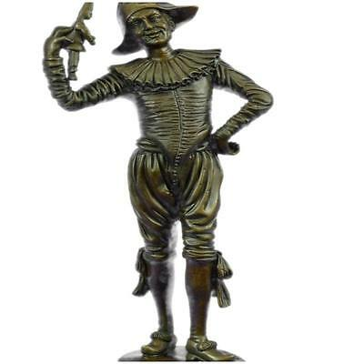 HandcraftedBronze Gueyton Reproduction Sculpture Of The Jester Figurine