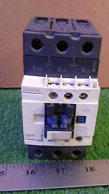 1 USED SCHNEIDER ELECTRIC LC1D65A CONTACTOR 80A, 600V a.c max, 3ph