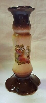 Oldcourt Ware Staffordshire Candlestick