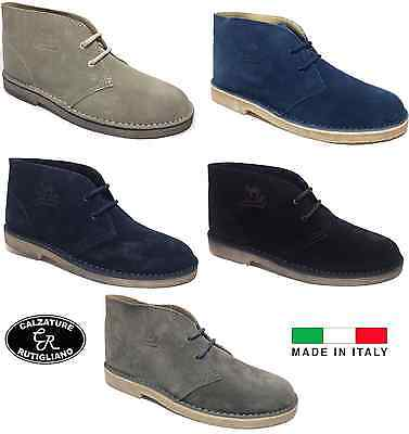 The Cammell's Scarpe Uomo Polacchine In Pelle Scamosciata Made In Italy