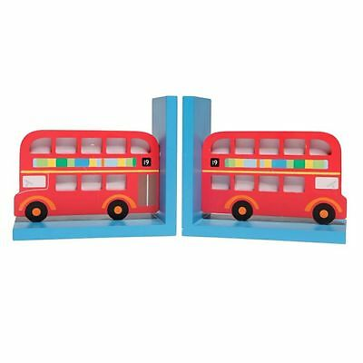 Sass And Belle Vintage Style Childrens Bus Vehicle Bookends Bnin Stationary Gift