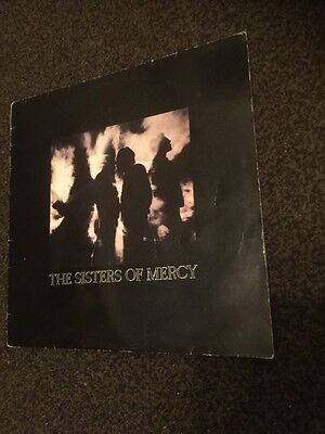 """The Sisters Of Mercy-More-12"""" Vinyl Record 1990 Excellent Condition RARE"""