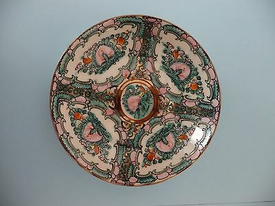 Small, vintage, oriental bowl, hand-coloured, decorative