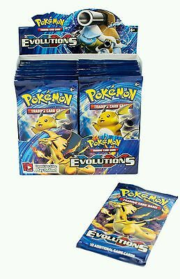 Pokemon XY Evolutions Booster Box 36 Packs Brand New Factory Sealed