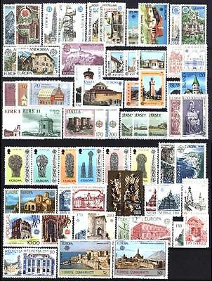 Cept Europa 1978 ** annata completa MNH beautiful and complete collection 78,00