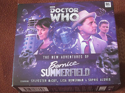 Big Finish The New Adventures of Bernice Summerfield Vol 1 - 5 disc box set – VG