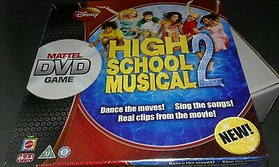 Disney - High School Musical 2 - DVD Game - Sealed