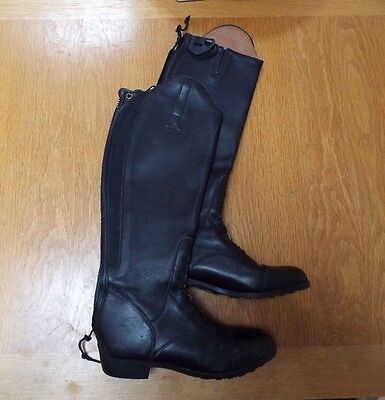 Mountain Horse High Rider Leather Riding Boots Size 5 and a half