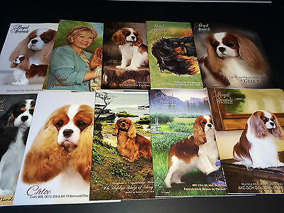 HUGE SALE! PICK 10 ~Cavalier King Charles Spaniel ~ Book / Magazine Collection