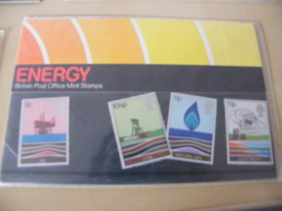 1978 - Energy Resources - Presentation Pack No. 99