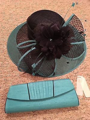 Jacques Vert Wedding Hat And Bag New With Tags