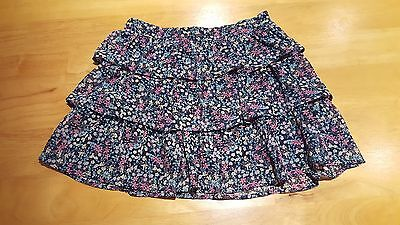 MARKS & SPENCERS Girls Clothes Tiered Rara Style Skirt Age 9-10 Years