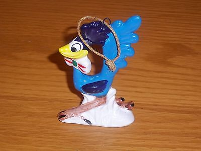 VINTAGE 1978 LOONEY TUNES ROADRUNNER CHRISTMAS ORNAMENT DAVE GROSSMAN w box