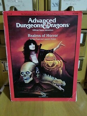 Advanced Dungeons & Dragons Module S1-4 Realms of Horror 9209