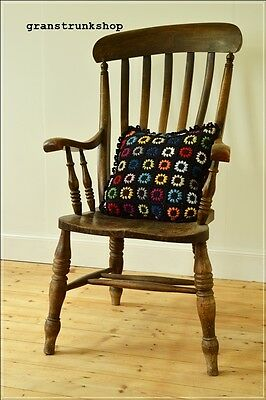 vintage chair kitchen farmhouse country  rustic antique victorian UK DELIVERY
