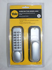 Yale - Push Button Combination Door Lock - P-DL01-SC - New & Sealed