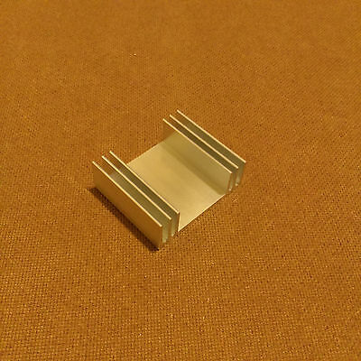 2 inch Heat Sink Aluminum (2.0 x 2.425 x 0.813) inches. Low Thermal Resistance.
