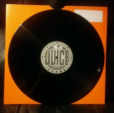 DJ Teebee - Intelligence Unknown / Conspiricy - Juice promo 1999 dnb vinyl