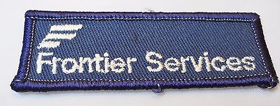 """Frontier Services Patch,1"""" X 3"""" New"""