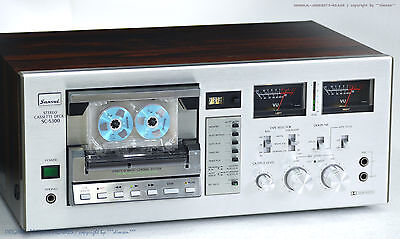 SANSUI SC-5300 Vintage Direct-O-Matic Cassette Tape Deck! Revidiert+1J.Garantie!