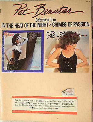 PAT BENATAR + Selections of In The Heat Of The Night - Crimes Of Passion