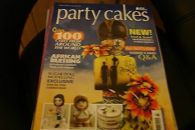 Party Cakes - cakes from around the world - sugar doll, african blessing