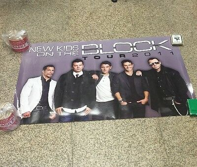 New Kids On The Block Concert Tour Poster 2011  No Pin Holes 24x36 On Sale