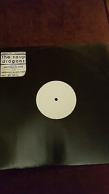 Soup Dragons vinyl promo 12 inch single  Can't Take No More orig mint.